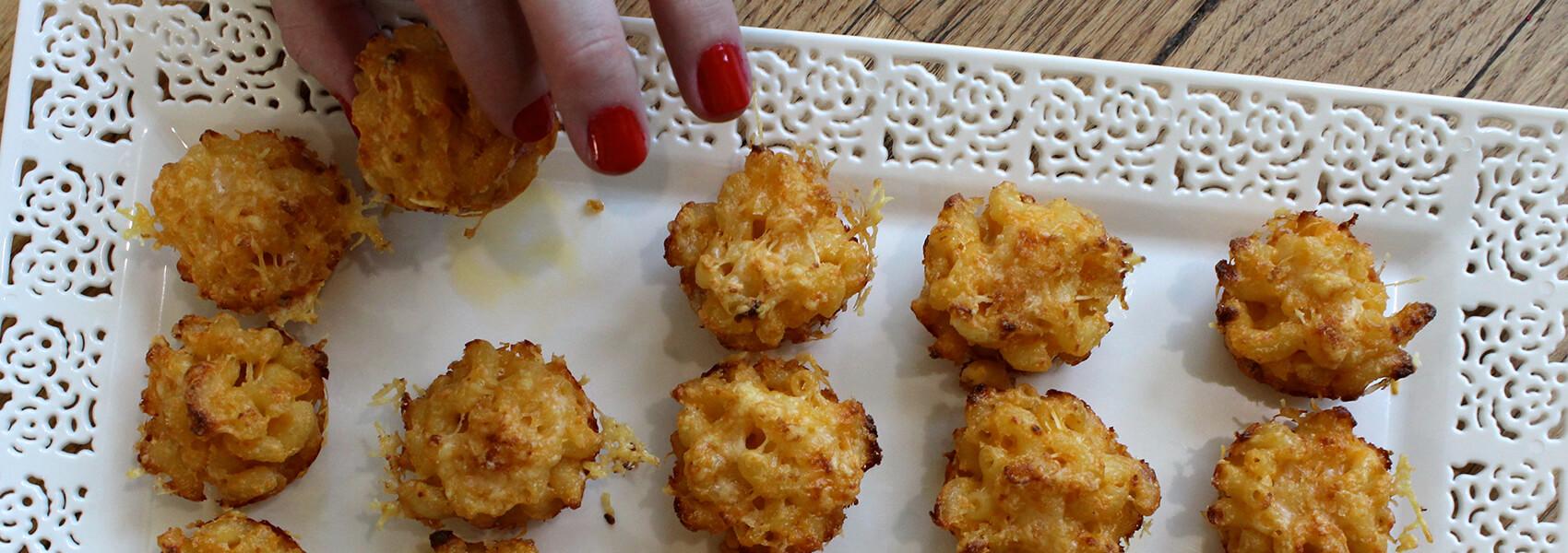 Mini Mac and Cheese Bits (Photo: Chelsi Fisher)