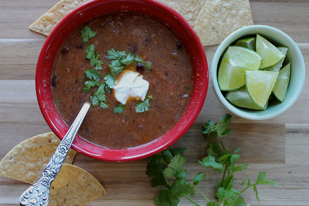 Black Bean Soup (Photo: Chelsi Fisher)