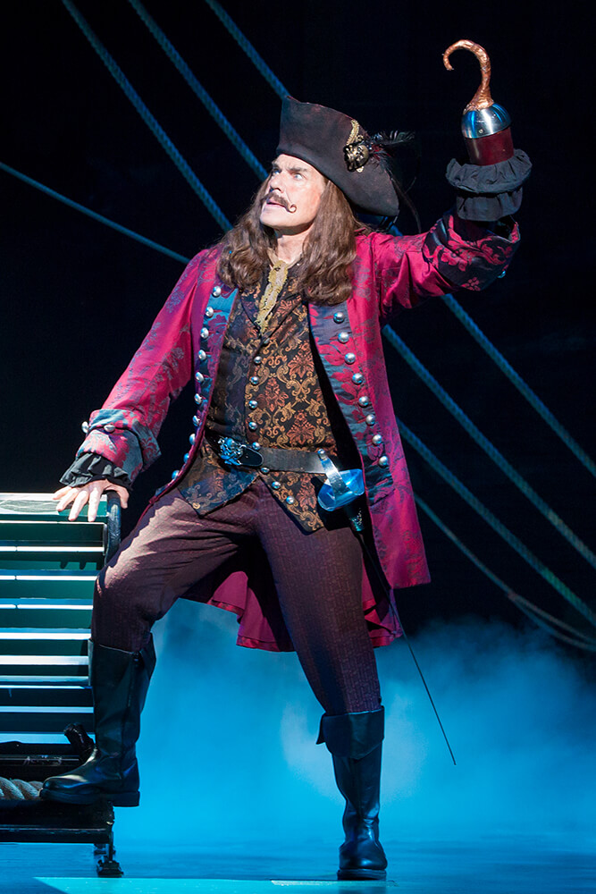 What would a Peter Pan story be without Captain Hook? (Photo: Jeremy Daniel)