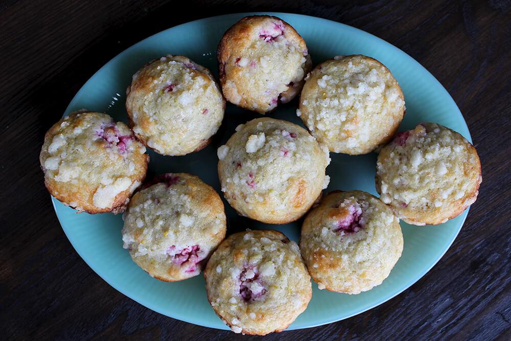 Lemon-Raspberry Streusel Muffins (Photo: Chelsi Fisher)