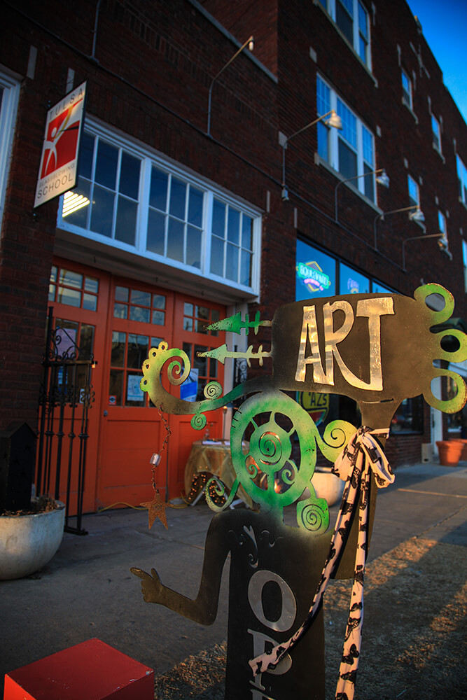 Whether drawing crowds of 50 or 5,000, First Friday Art Crawl has never strayed from its original purpose of giving new or unknown local artists a venue to showcase and sell their work. (Photo: Marc Rains)