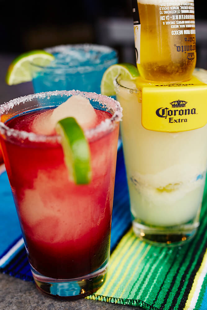 Mexicali's drinks offer a perfect way to cool off and relax on a hot summer day. (Photo: Sarah Eliza Roberts)