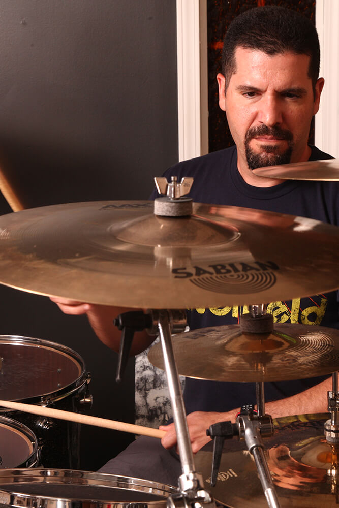 As Caroline's Spine wound down, Gilardi started teaching drums and has become one of Tulsa's most sought after instructors. (Photo: Marc Rains)