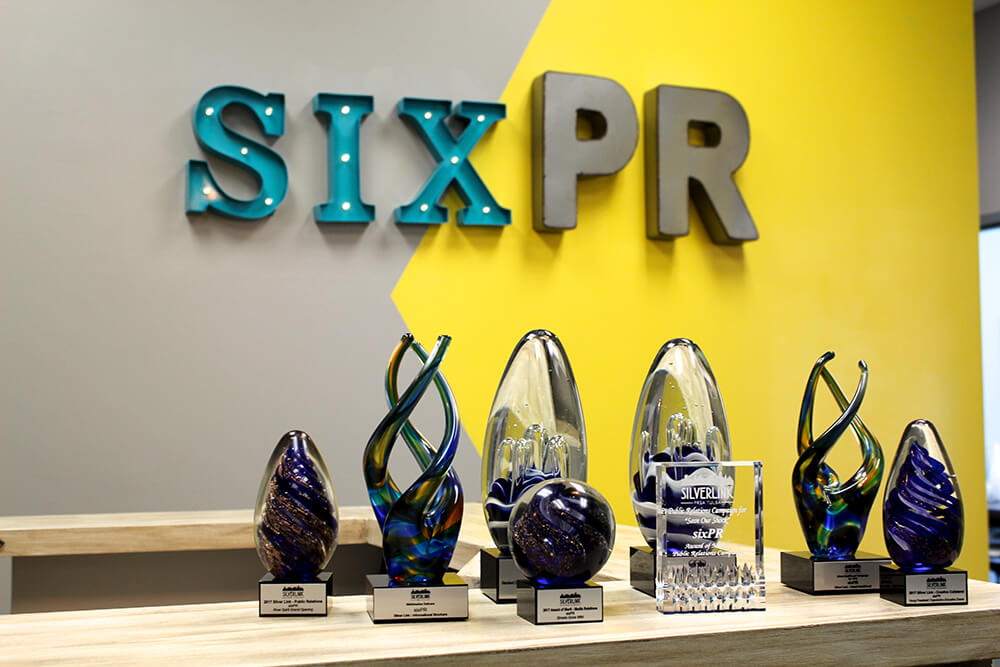 The sixPR team has over 40 years of experience helping clients with their communications needs. (Photos: Chelsi Fisher)