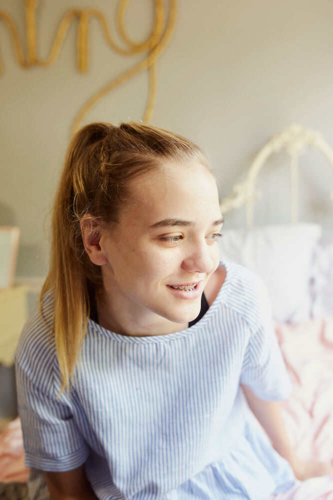 Meeting and talking with Izzy, it becomes clear that she is a fighter, a determined young person with a lot of drive and a competitive nature that compels her to push herself. (Photo: Sarah Eliza Roberts)