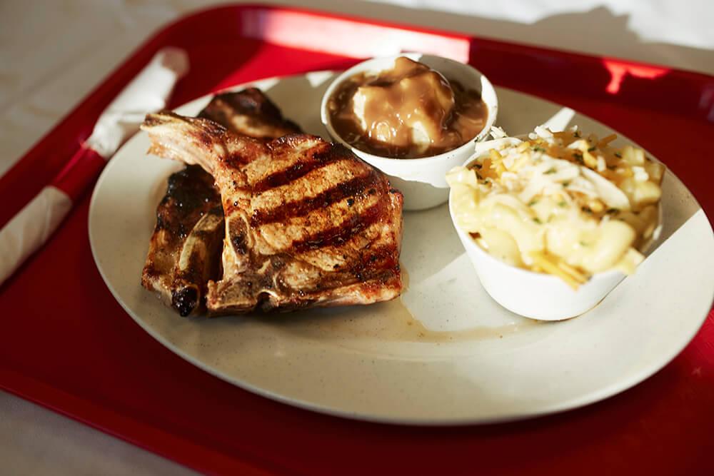 Pork Chop (Photo: Sarah Eliza Roberts)