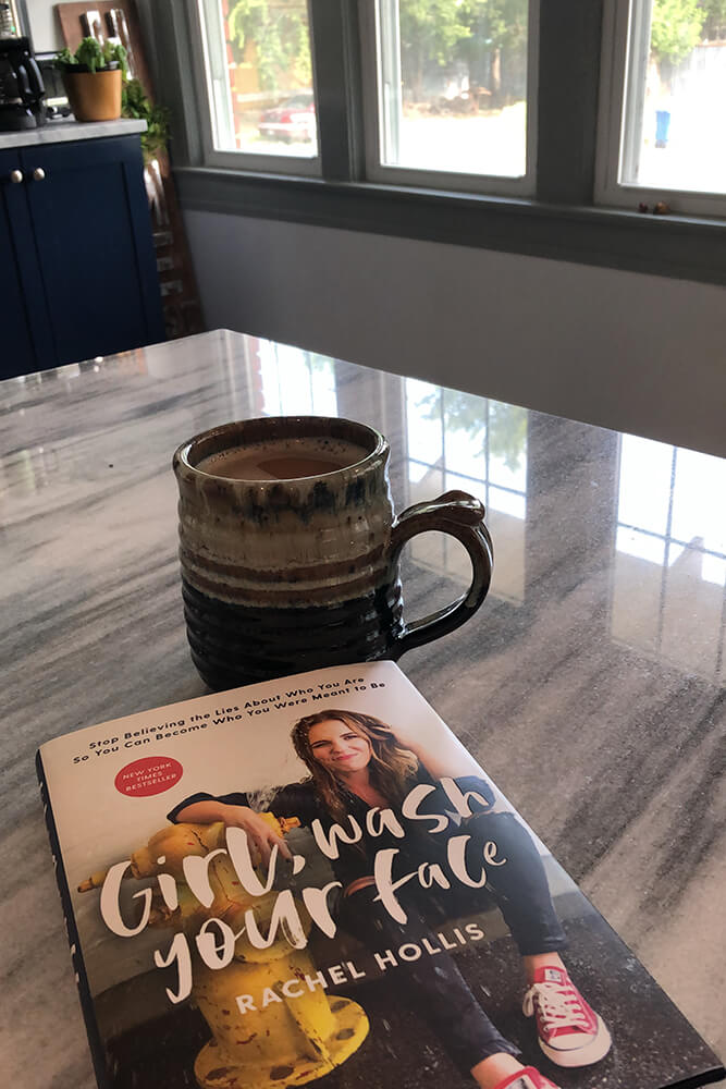If you're not quite ready to visit a counselor, at least go and pick up this amazing book by Rachel Hollis. It's all about how to stop believing lies about yourself and fully engage with life.