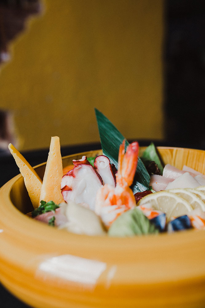Sashimi Bowl (Photo: Sarah Eliza Roberts)