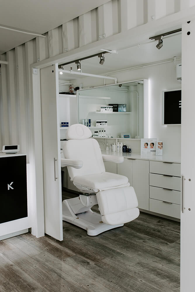To meet the needs of downtown's working crowd, Blank Med Spa aims at providing practical, quick medical skin care approaches that clients can enjoy while not missing out on too many hours at the office. (Photo: Sarah Eliza Roberts)
