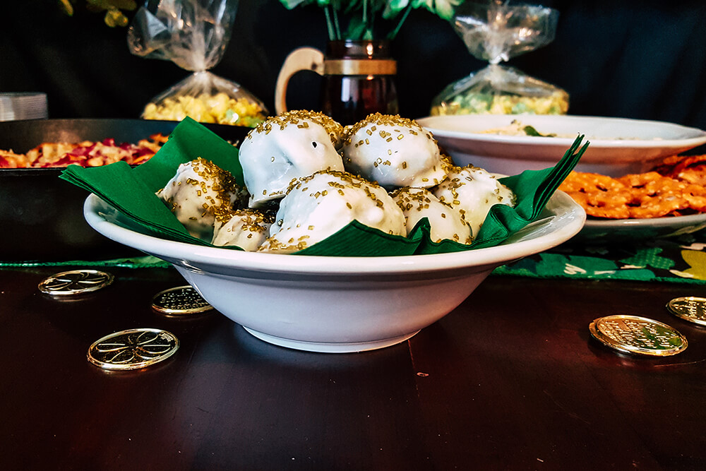 Luck of the Irish Mint Oreo Truffles (Photo: Sarah Herrera)
