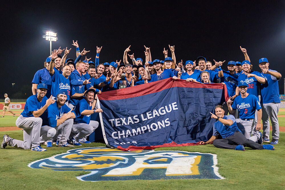 Last year the Drillers captured the franchise's first league title since 1998.