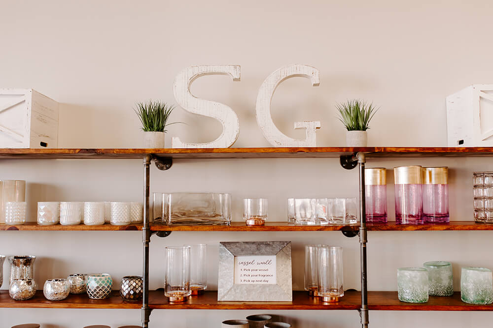 If you've never been to Secret Gardens, it's more than a candle store. (Photo: Sarah Eliza Roberts)