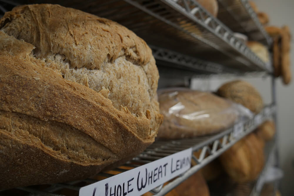 If you've never been inside Farrell Bread or haven't been in lately, now's a great time to visit. You can see for yourself the bright space and enjoy delicious breads renowned around town for their taste and their quality ingredients, great flours without fillers, additives or preservatives. (Photo: Marc Rains)
