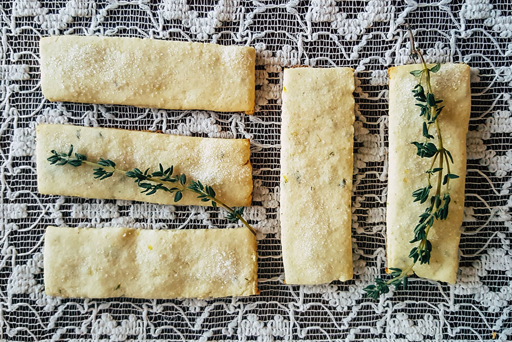 Lemon Thyme Cookies (Photo: Sarah Herrera)