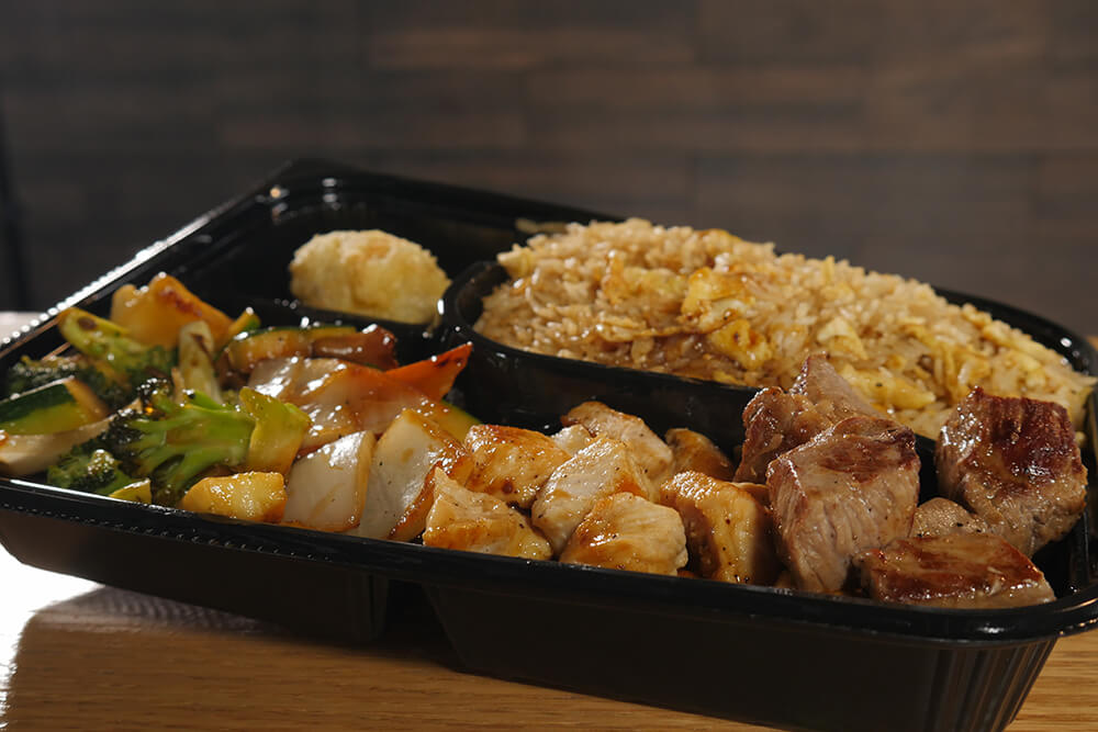 Steak and Chicken Hibachi with Fried Rice (Photo: Marc Rains)