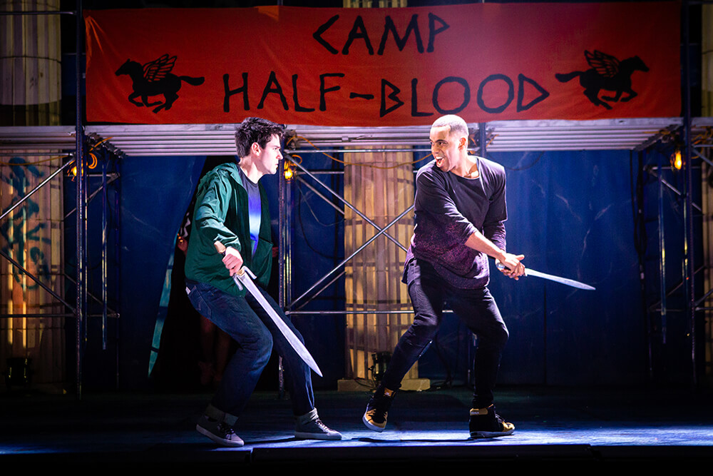 You may have read the book. You may have even seen the movie. But you've probably never witnessed gods, monsters, and half-bloods battle it out in song and dance in this action-packed Broadway production of The Lightning Thief: The Percy Jackson Musical.