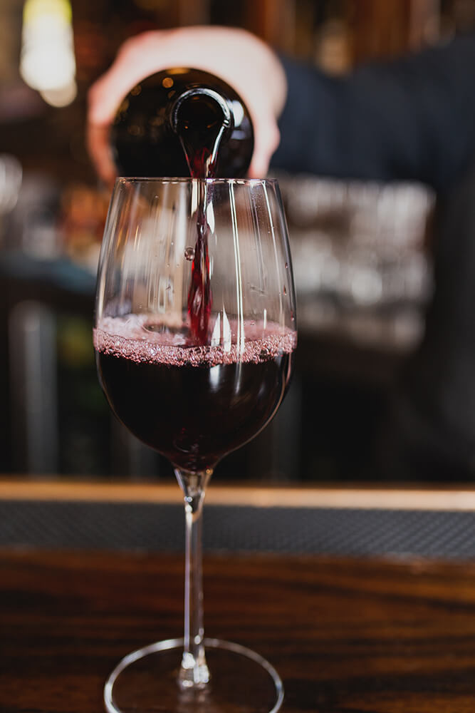 The extensive wine list offers some of the best wines from across the globe. (Photo: Sarah Eliza Roberts)