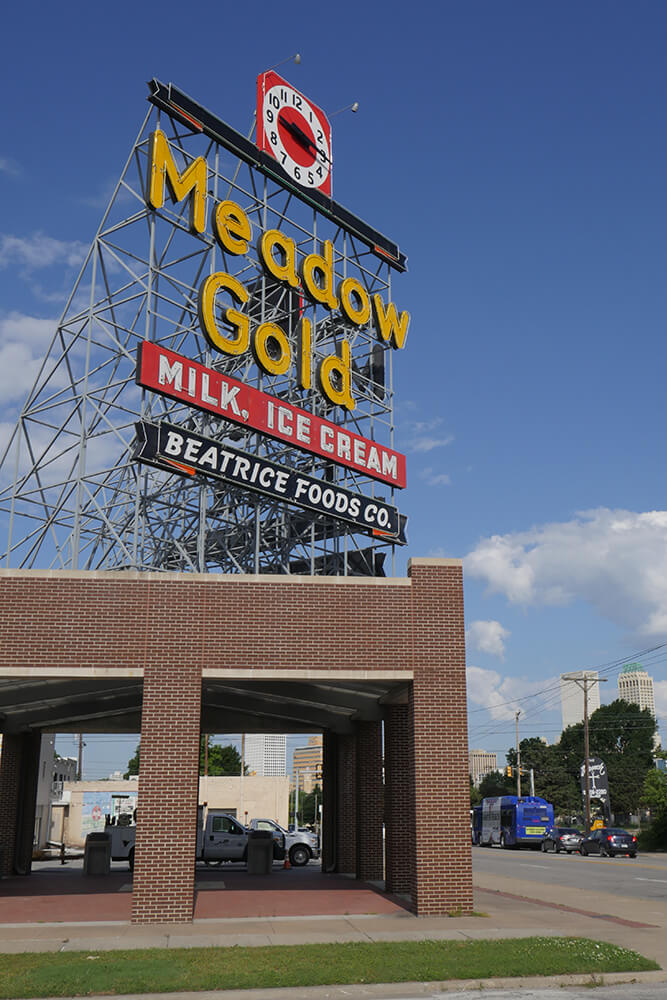 The Meadow Gold District is a mixed-use community district. (Photo: Marc Rains)