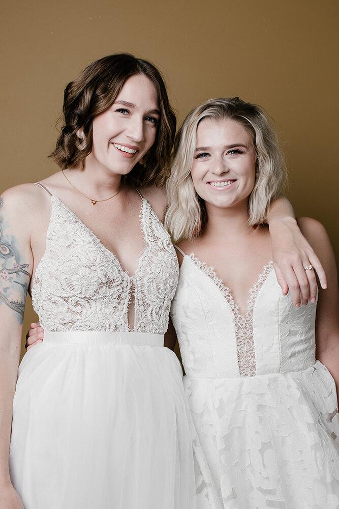 Megan Redmond and Carley Johnson. (Photo: Sarah Eliza Roberts)