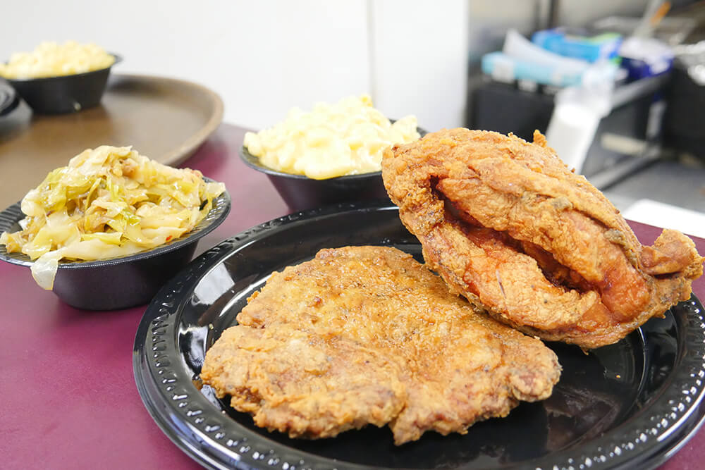 Chicken-Fried Steak and Fried Chicken (Photo: Marc Rains)