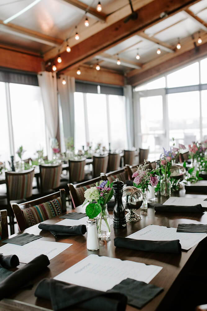Waterfront Grill can be casual or elegant, fun and comfortable, budget-friendly, or high-end. (Photo: Sarah Eliza Roberts)