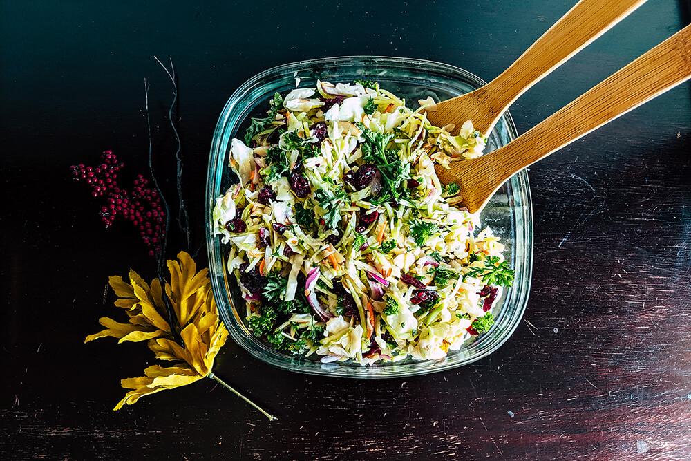 Festive Salad Slaw (Photo: Sarah Herrera)