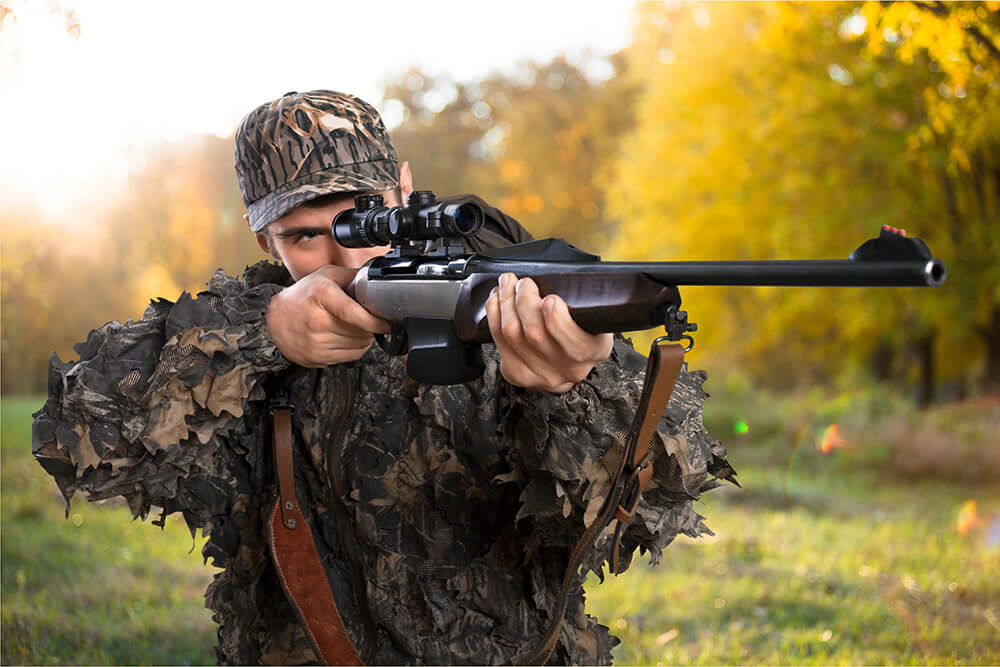 Before your first hunt, go to a shooting range and test your skills, as well as remind yourself of the safety rules. Take the time to make sure you feel at ease with your weapon before going out into the real situation.