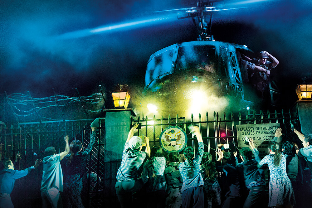 Although the revival of Miss Saigon stays true to history, many little differences bring the show to life in a new way.