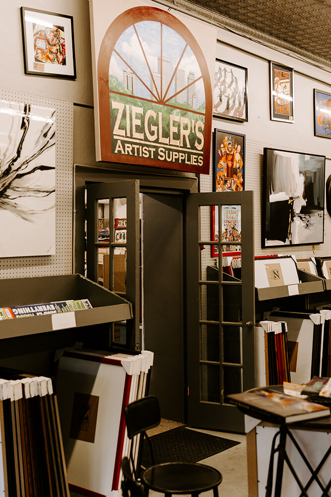 Ziegler's dedication to the community isn't just apparent in its love for the neighborhood; the devotion to customers shines through in a simple practice that's kept them in business for half a century. (Photo: Sarah Eliza Roberts)