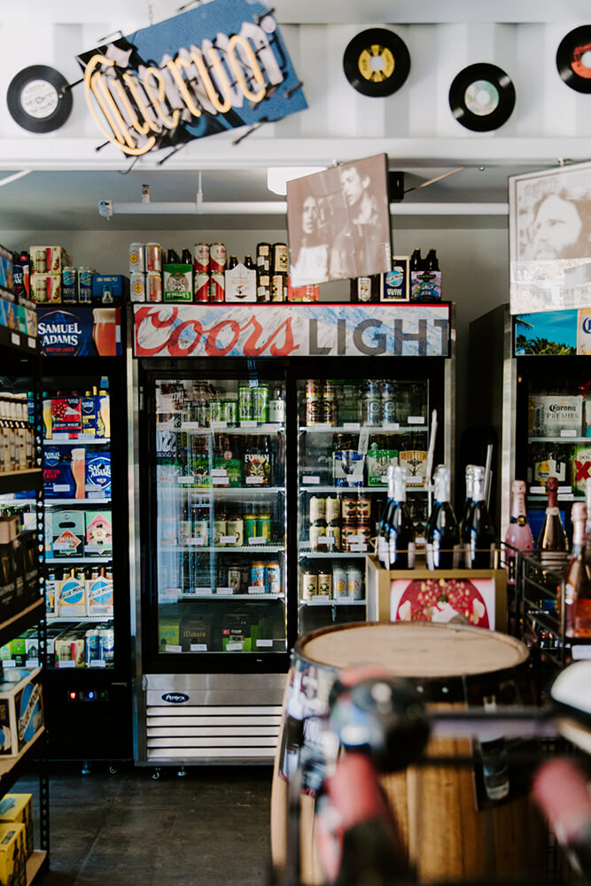 At Riley's you can expect to find plenty of old favorites, of course, as well as a robust variety of the latest craft releases, hard-to-find brews, and seasonal flavors. (Photo: Sarah Eliza Roberts)
