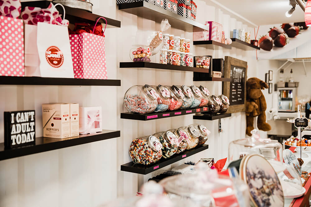Sweet Boutique caters to the sense of wonder and excitement every kid has when seeing a spread of so many candy options to choose from. (Photo: Sarah Eliza Roberts)