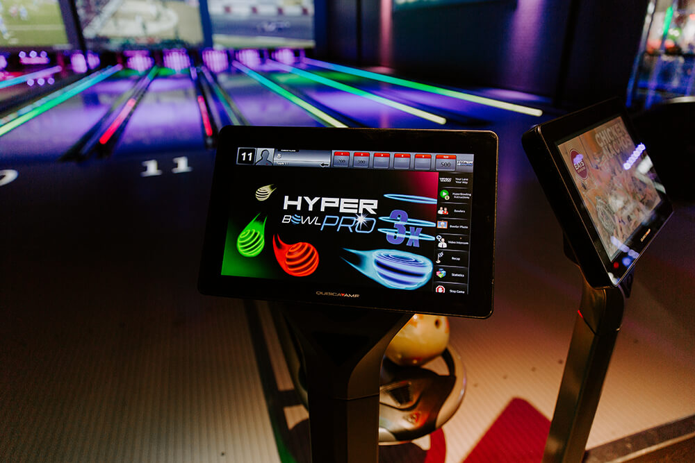 Cinergy offers a sport that's highly interactive and fun, thanks to a new twist that turns lanes into a high-tech, glitzy, gamified environment that is like nothing else you'll find right now in Green Country. (Photo: Sarah Eliza Roberts)