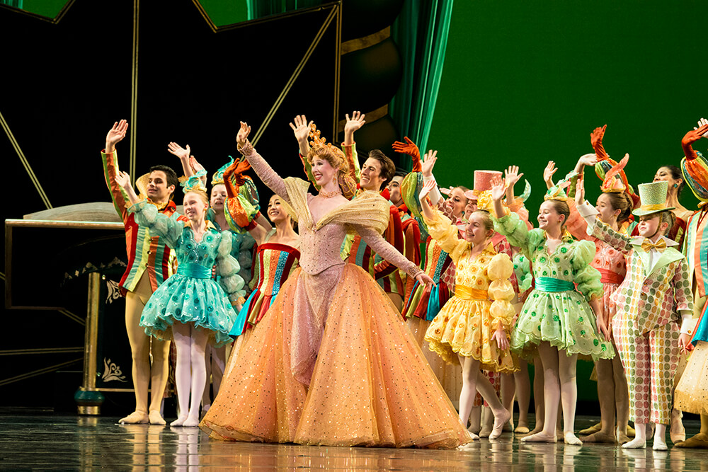 Dorothy and the Prince of Oz was created and built around the idea of engaging people who are not familiar with ballet.