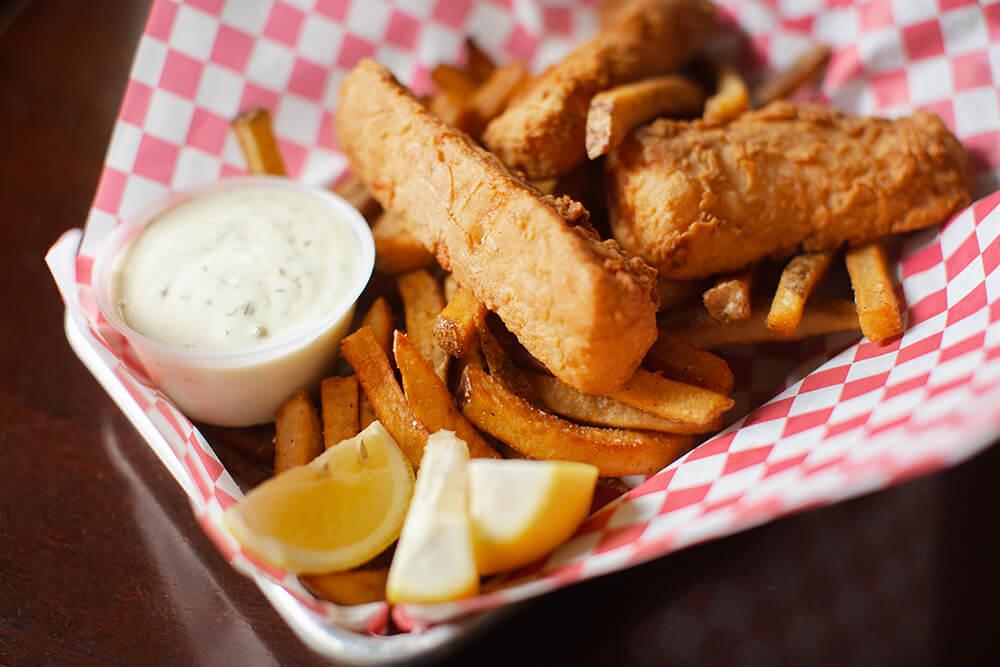 Guinness-Battered Fish and Chips (Photo: Sarah Eliza Roberts)