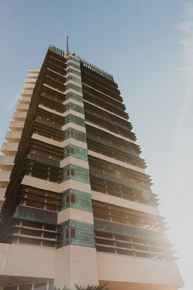 As Frank Lloyd Wright's only realized skyscraper, the Price Tower is on the National Register of Historic Places, and when you visit, it's clear why. (Photo: Sarah Eliza Roberts)