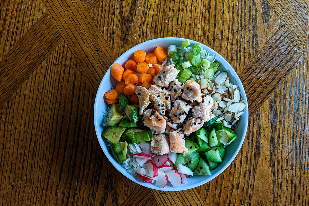 Salmon Sushi Bowl (Photo: Sarah Herrera)