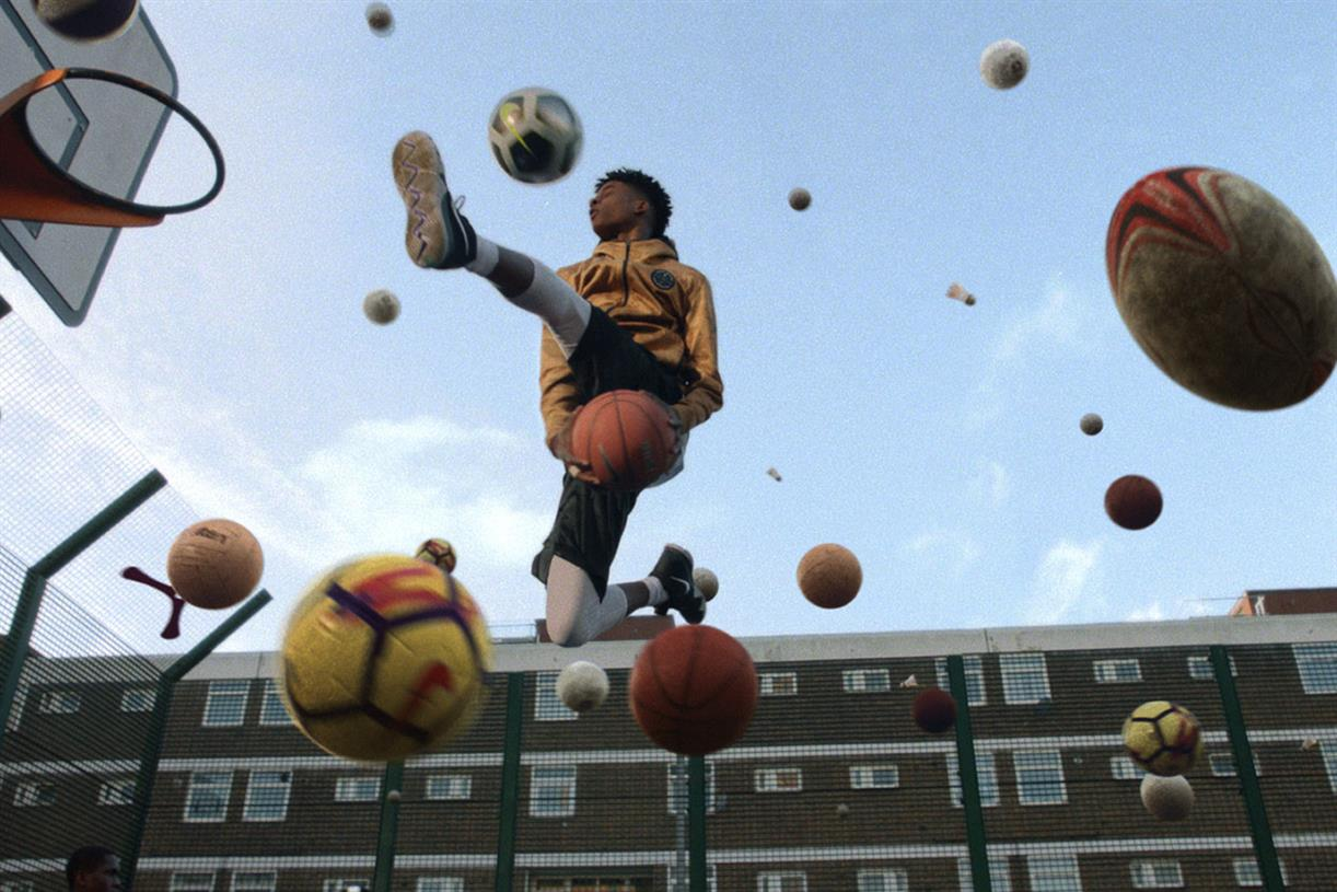 Kampagne: Nike - Nothing beats a Londoner