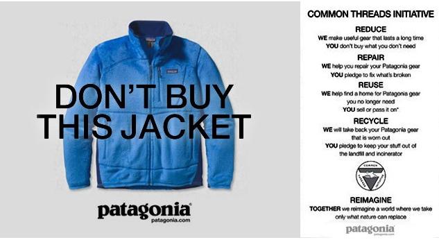 Langzeit Kundenbeziehungen von Patagonia, Marketing Taktik, Konsumentenmarketing