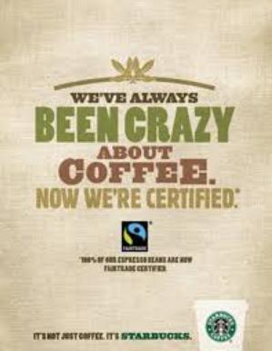 hohe moralische Grundsätze für Marken, die ethnischen Grundsätze von Starbucks, gutes Markenimage