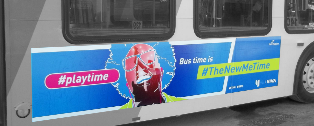 "Bus-Unternehmen York Region Transit feiert die ""Me Time""; Consumer as new luxury, self-improvement, health, time"