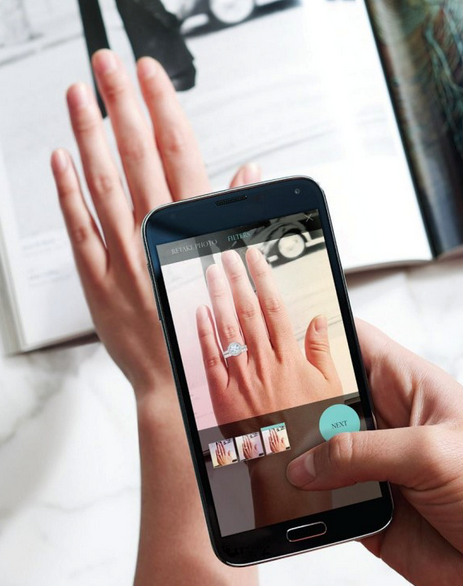 Tiffany & Co's Engagement Ring Finder Mobile App; Consumer as new luxury, self-improvement, health, time