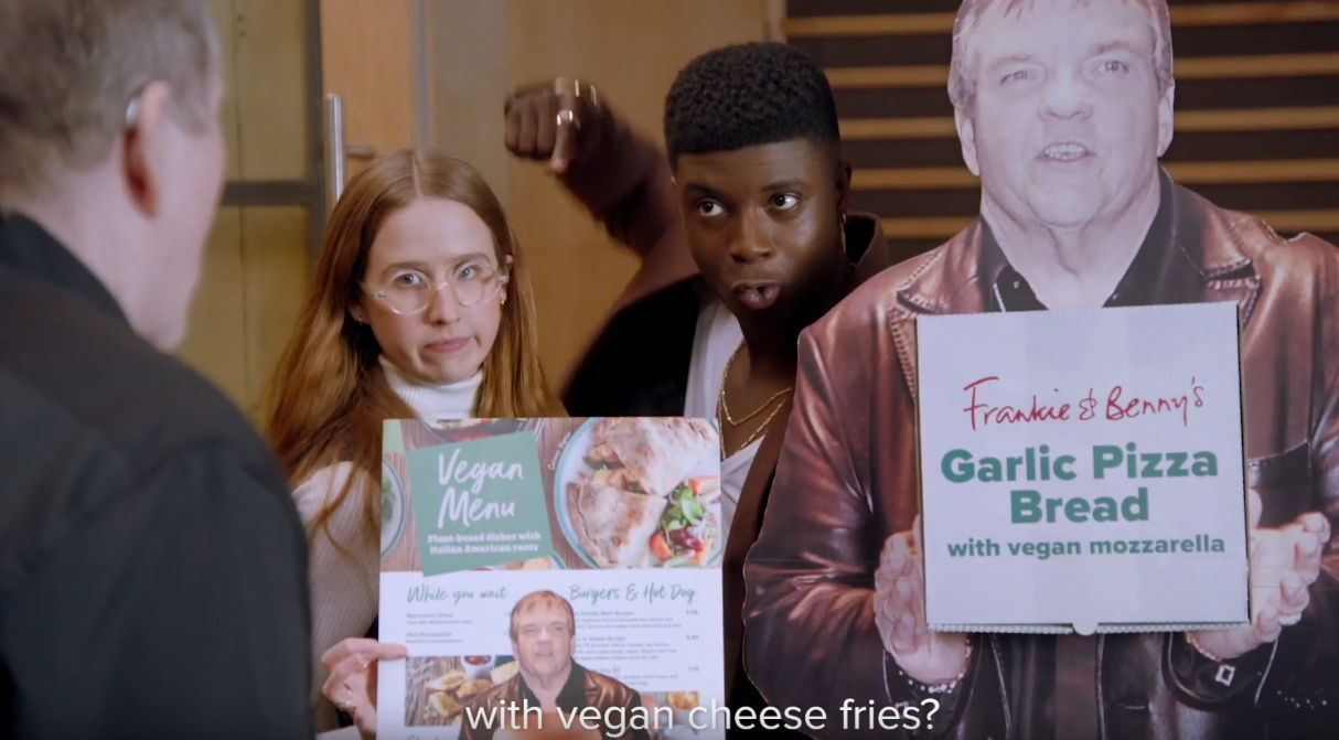 Kampagne: Frankie & Benny's - Meat Loaf would do anything for veg