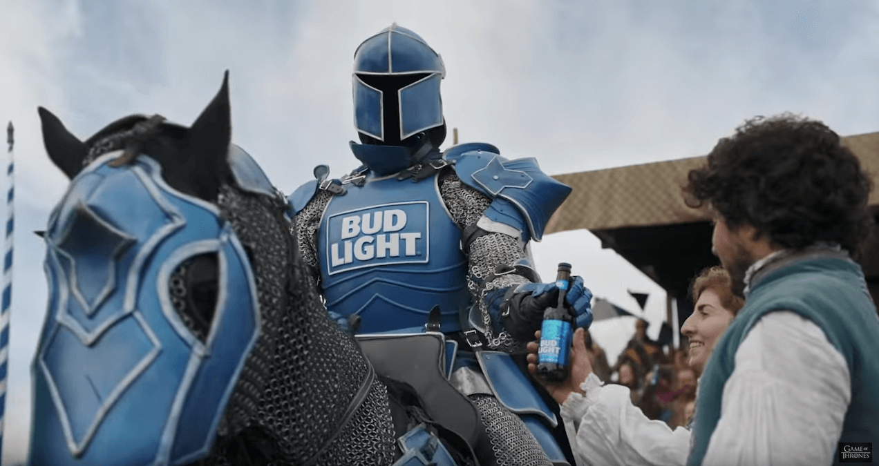 Bud Light x GOT