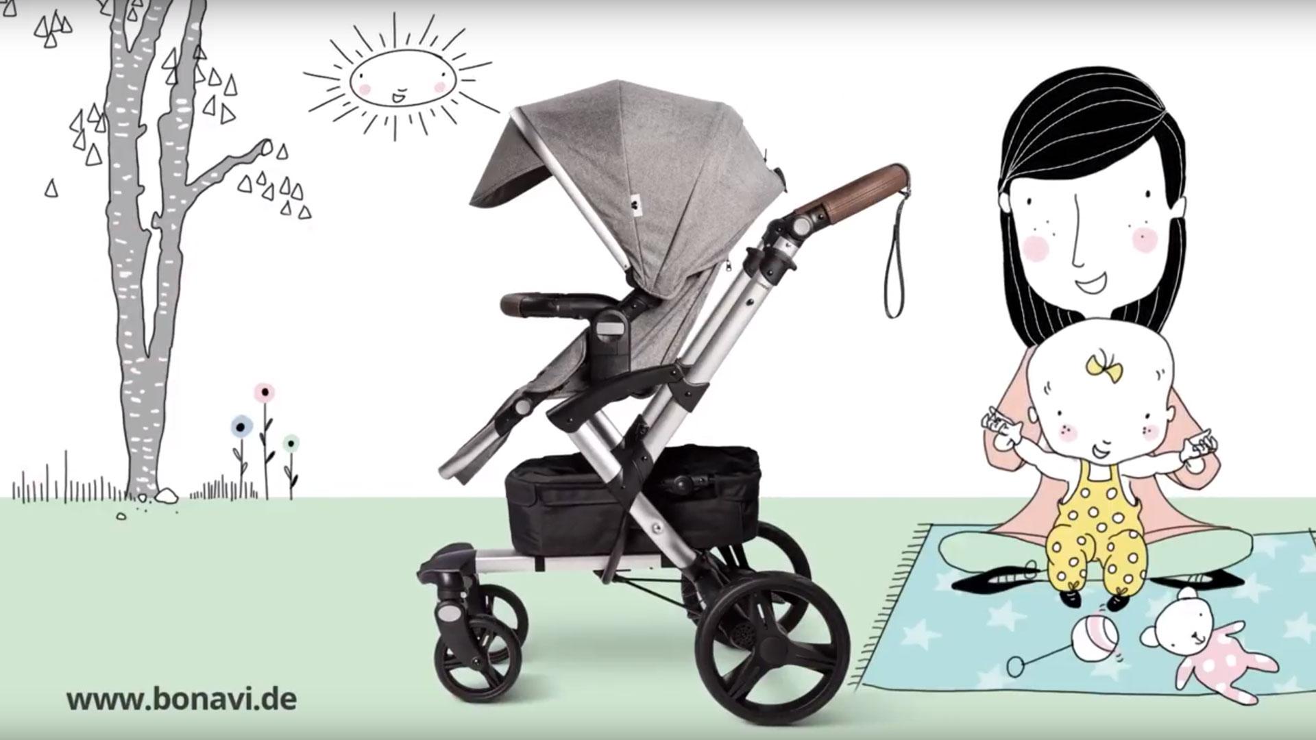 Campaign: Bonavi strollers