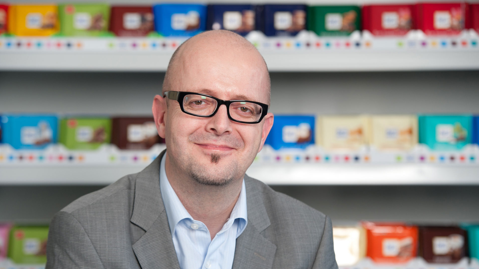 """TV is still the only medium that reaches 70 percent of the population within two weeks"" – an interview with Ritter Sport Marketing Director Jürgen Herrmann"