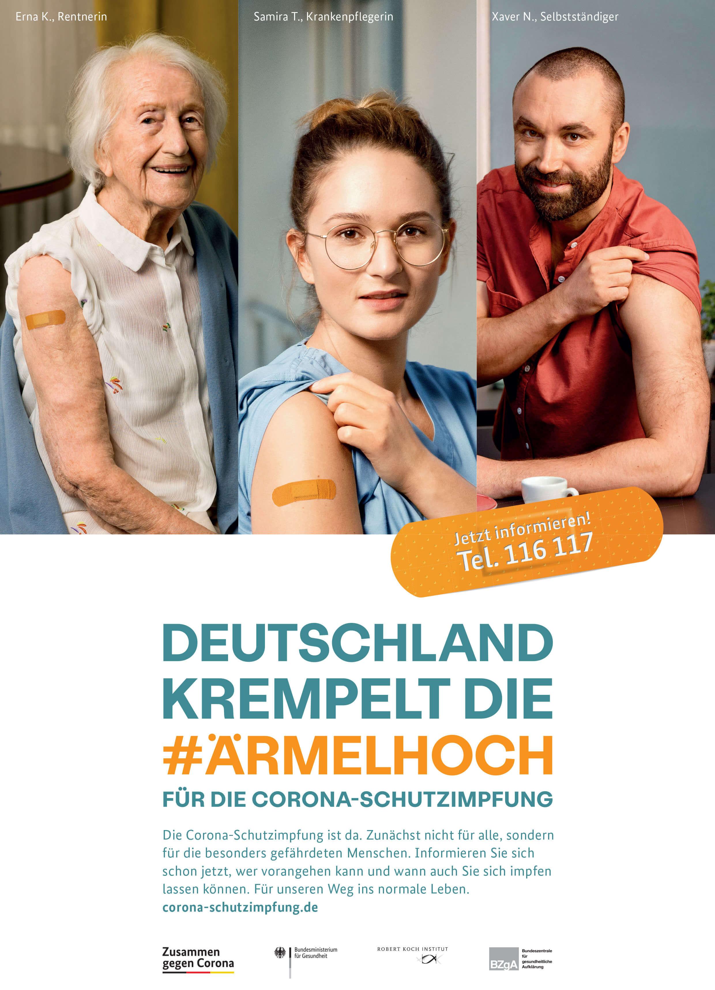 Deutschland krempelt die #Ärmelhoch
