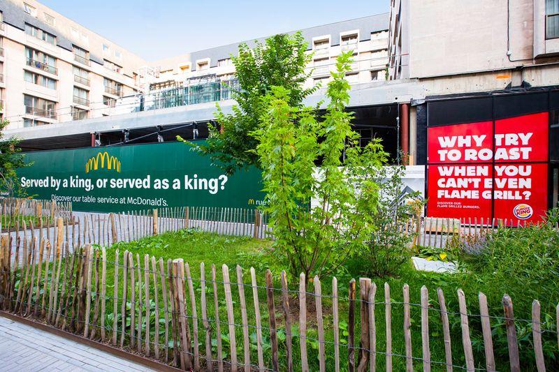 Mc Donalds vs. Burger King
