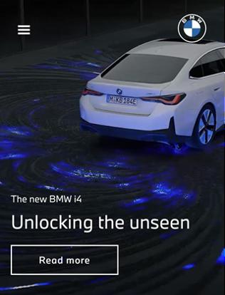 UI BMW Website