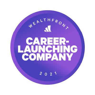 WealthFront 2021 - Career Launching Company