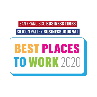 San Francisco Business Times, Silicon Valley Business Journal Best Places to Work 2020